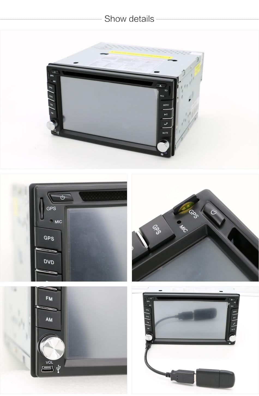 Coche Reproductor multimedia 2 din radio volante grabadora de cinta - Electrónica del Automóvil - foto 5