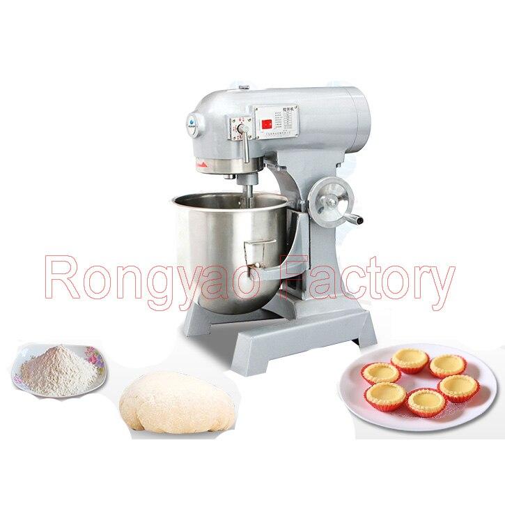 30L Multi-fonctionnelle pâte oeufs farine lait équipement de mélange rapide alimentaire mélangeur