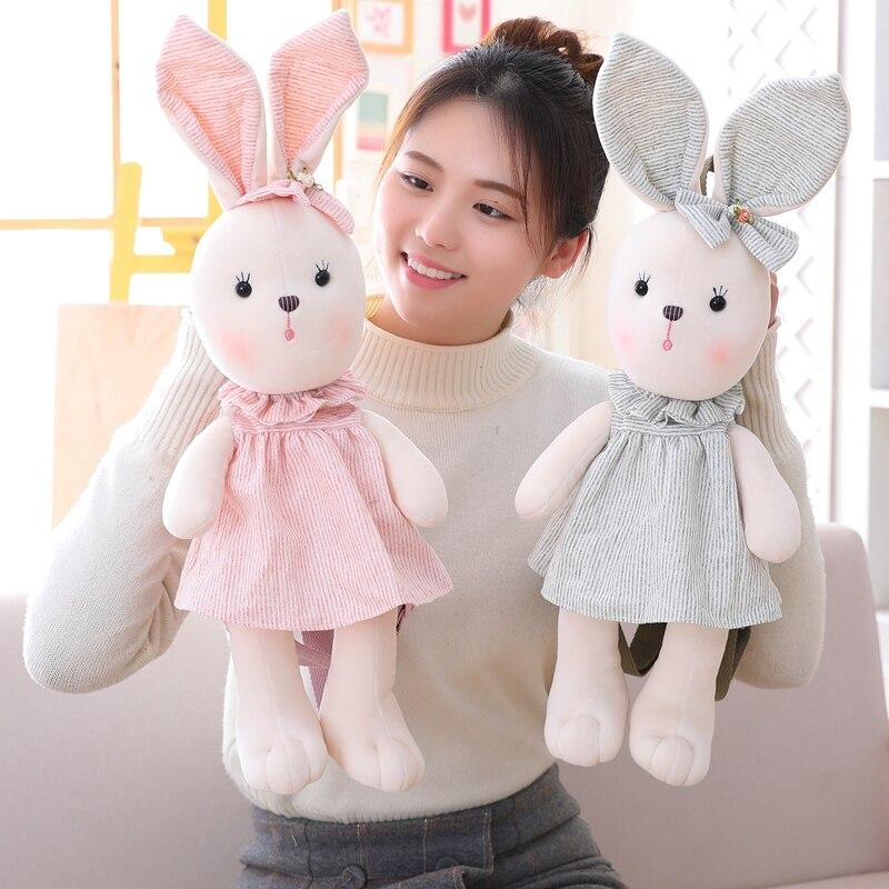 Милый кролик детская игрушка в виде рюкзака плюшевый рюкзак в форме животного для детей Детская плечевая сумка