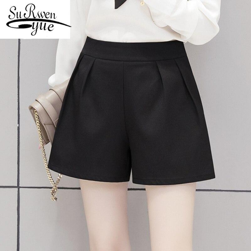 women solid black summer fashion women's   pants   fashion women   pants   casual 3XL plus size   wide     leg     pants   free shipping 0798 40