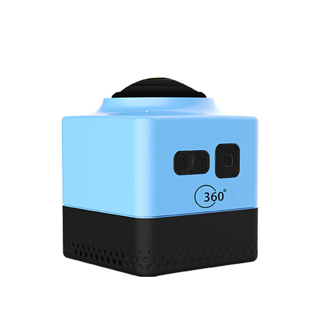 CUBE360 VR Camera Image Stabilization 3D HD F2.0 360 Degree MIni Camera Wifi/App 1300Amh Max Support 32G TF Card