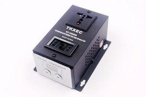 Image 5 - Regulador de voltagem eletrônico, regulador de tensão ac 220v 10000w scr ferramentas elétricas do motor do ventilador controlador de velocidade ajustável