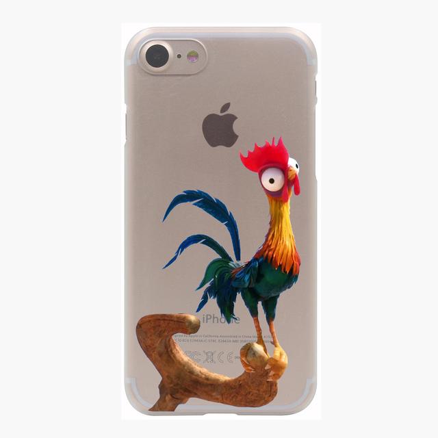 Princess Moana Hard Transparent Case for iPhone 7 7 Plus 6 6S Plus 5 5S SE 5C 4 4S
