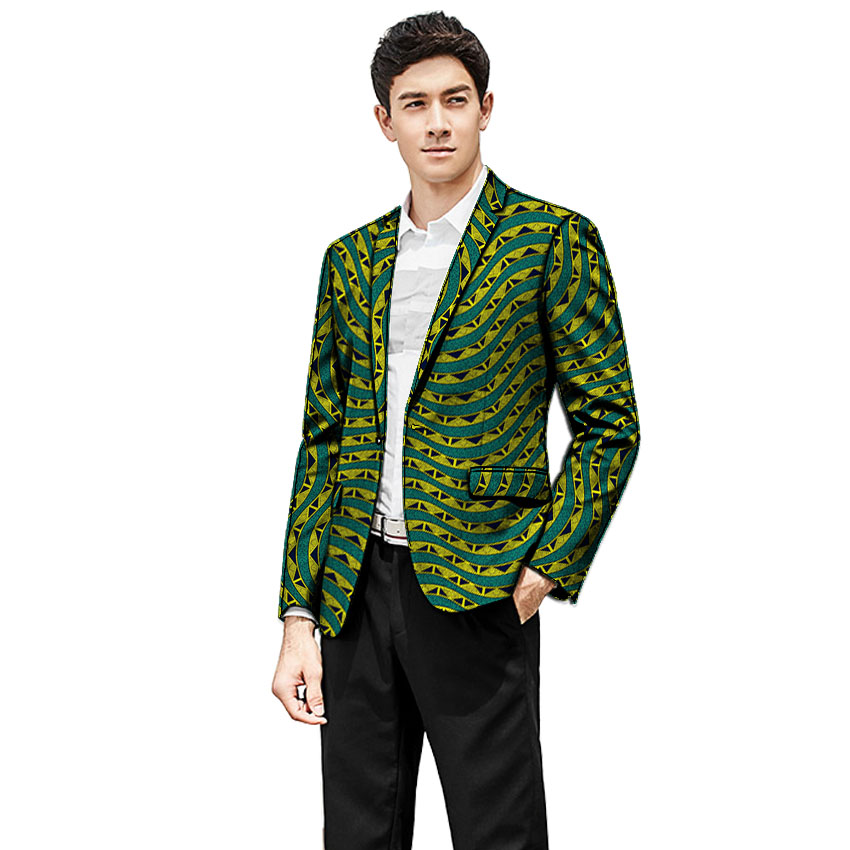 e3abd7e0dcb2 Buying Guide Africa Style Men Blazers High Quality Men Single Breasted Suit  Jacket Dashiki Print Men Jackets African Clothing For Wedding