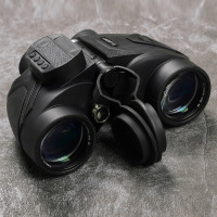 SVBONY Military 7x50 Binoculars Digital Compass Powerful Reticle Floating w/ Built in Display for Boating Marine Navigation