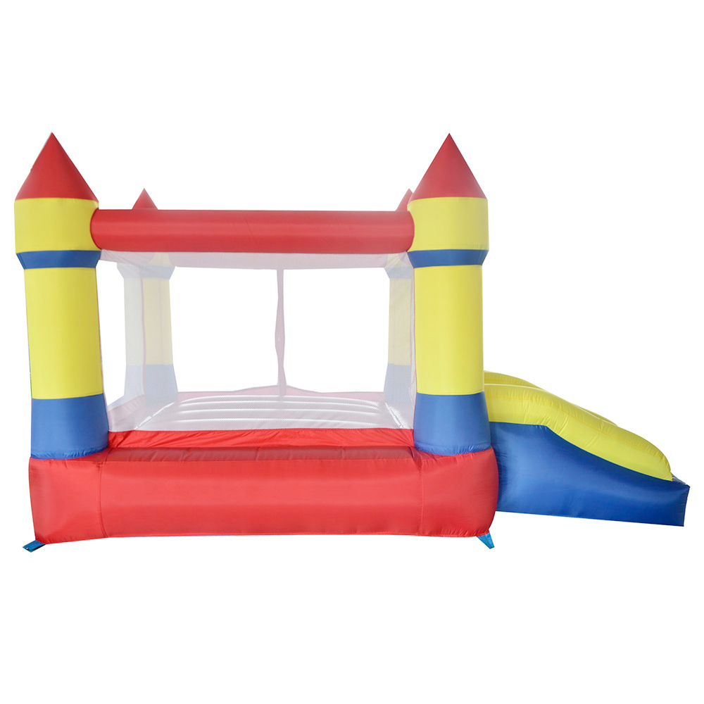 YARD Inflatable Castle Bounce House Inflatable Trampoline with Double Slides with Blower for Party Outdoors Children Fun Land yard home used inflatable bouncer inflatable bounce house bouncy castle with double slides for children outdoor and indoor games