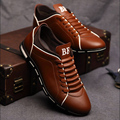 In the autumn of 2016 New England men's trend of Men's Shoes casual Shoes leather shoes breathable four male