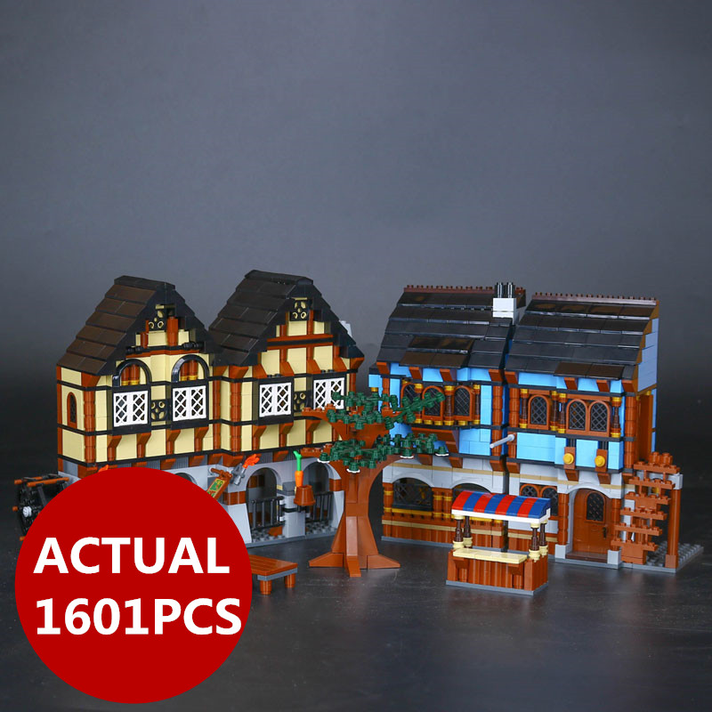 Lepin 16011 Castle Series The Medieval Manor Castle Set Lord of the Rings Buildings Blocks Bricks LegoINGys 10193 Kids Toys Gift jonsbo lord of the rings mod screw set red