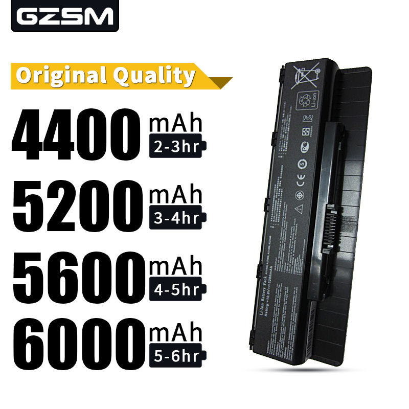 HSW  A31-N56 A32-N56 A33-N56 Laptop Battery For Asus ROG G56J G56 G56J N46 N46V N46VM N56 N56DY N56JN N56VB N56VV N76  Battery