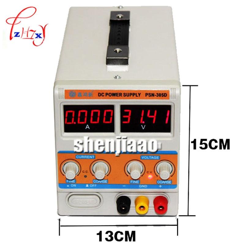 PSN-305D 30 V / 5A 0.001 A Switching power supply Regulated Adjustable Digital DC SMPS 110 V / 220 V psn 305d 30 v 5a 0 001 a switching power supply regulated adjustable digital dc smps 110 v 220 v
