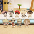 Youpop Kpop BTS Album V Suga Jungkook Jimin Jhope J-hope Jin K-POP Case Rings 360 Degree Finger Stand Holder Rings ZHK