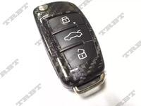Dry Carbon Fiber Audi A5 Key Cover CF Key Fob Case For All Audi A1 A2 A3 A4 A5 A6 A7 A8 TT TTS R8