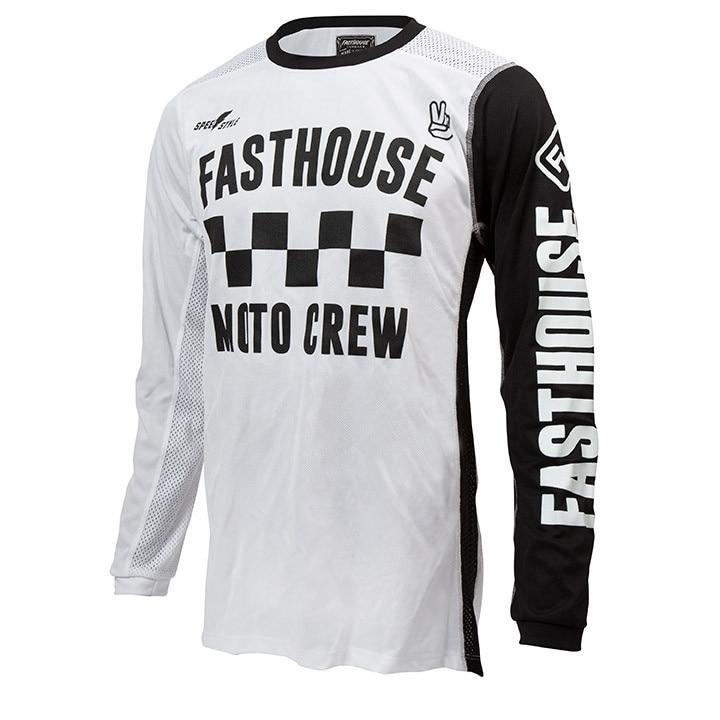 Prix pour 2017 noir/blanc Dames à manches longues Descente Jersey Motocross Vélo Moto moto Chemises moto VTT DH MX T-shirt vélo