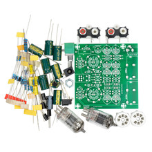 Tube Amplifiers Audio board Amplifier Pre-Amp Audio Mixer 6J1 Valve Preamp Bile Buffer Diy Kits(China)