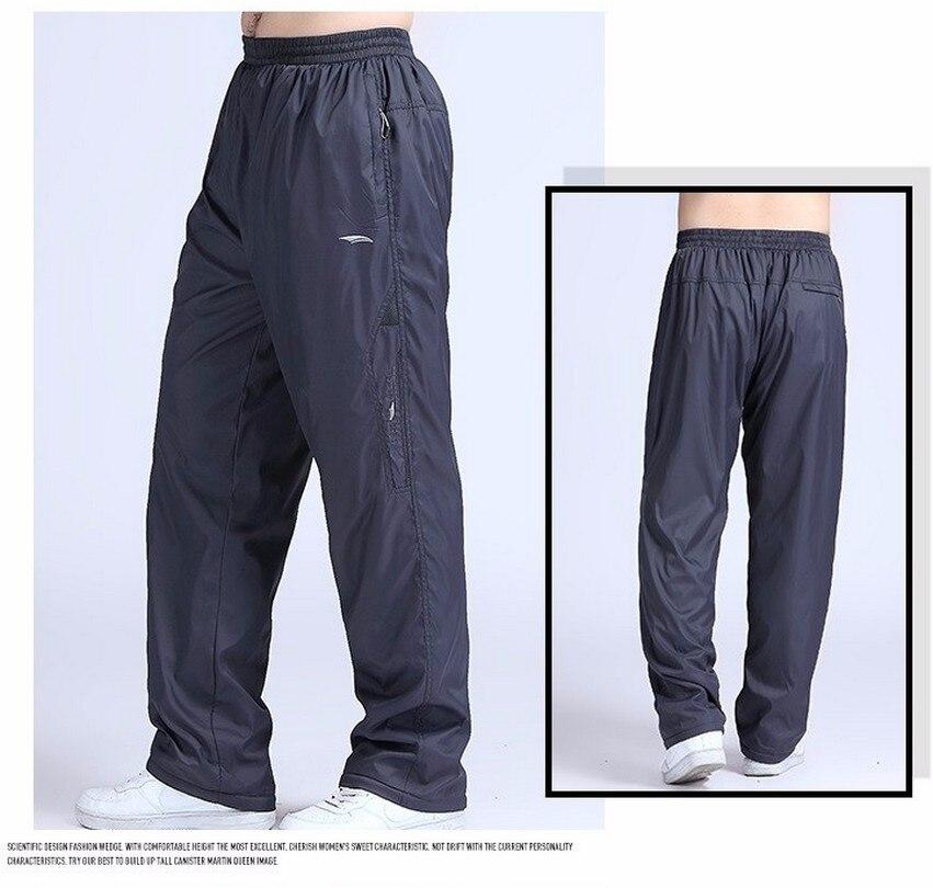 Men's Super Warm Winter Pants Thick Wool Joggers Fleece Trousers Waterproof Sweatpants Windbreaker Cargo Pants Men 4XL 5XL 6XL