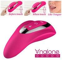 Crescent Bend Touch Frequency Vibration bar Female Masturbation Tongue Oral Sex Adult Sex toys Vibrators