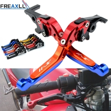For Honda X-11 X11 1999 2000 2001 2002 Levers CNC Aluminum Motorcycle Brake Clutch Levers Foldable Extendable Adjustable