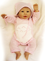 baby doll 50 cm silicone reborn doll toy for girls handmade vinyl girl doll 20inch lifelike baby dolls toys kids new years gifts
