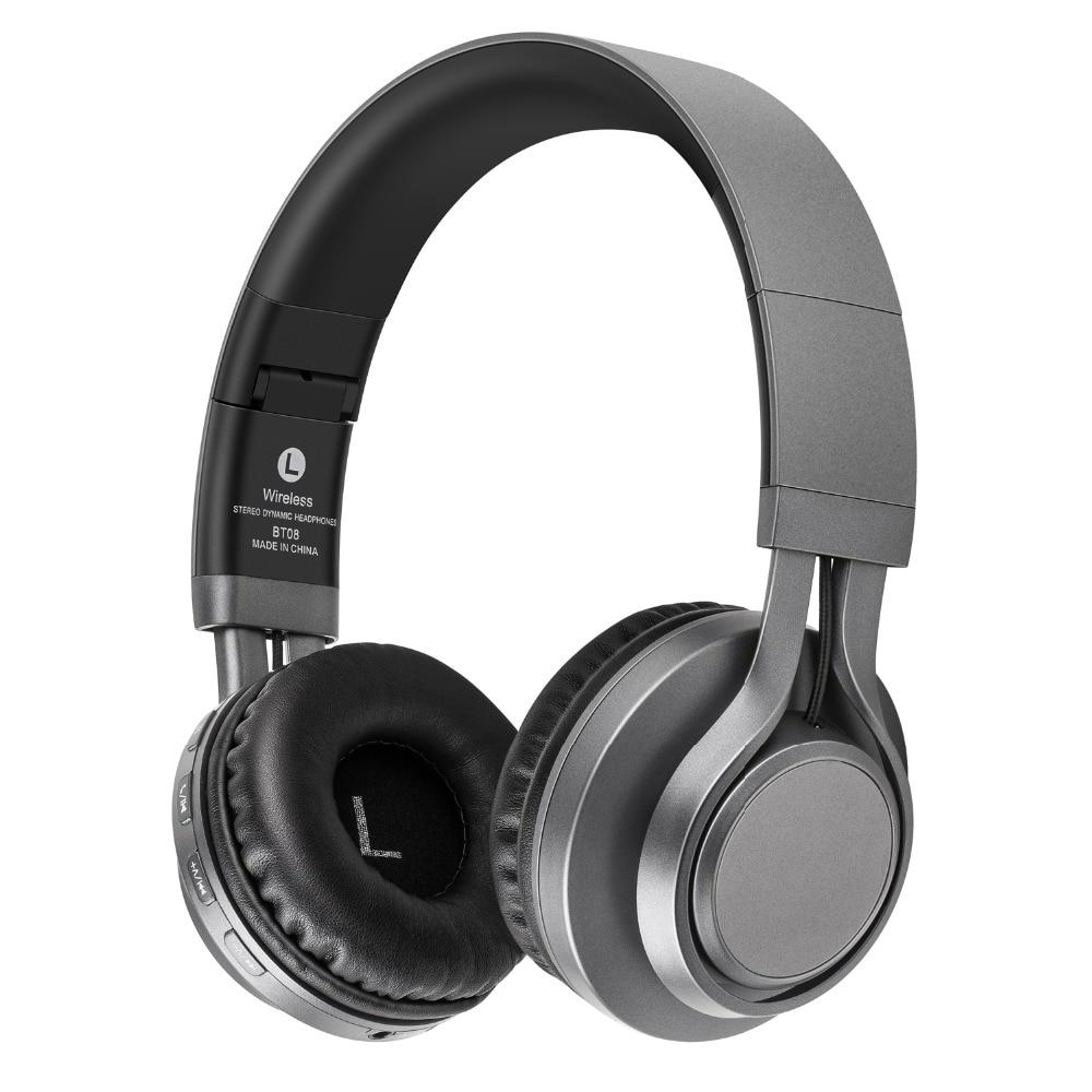 Sound Intone BT-08 Bluetooth Headphone With MIC Wireless Headphones Support TF MP3 HIFI Music Headset Foldable Gaming Head Phone
