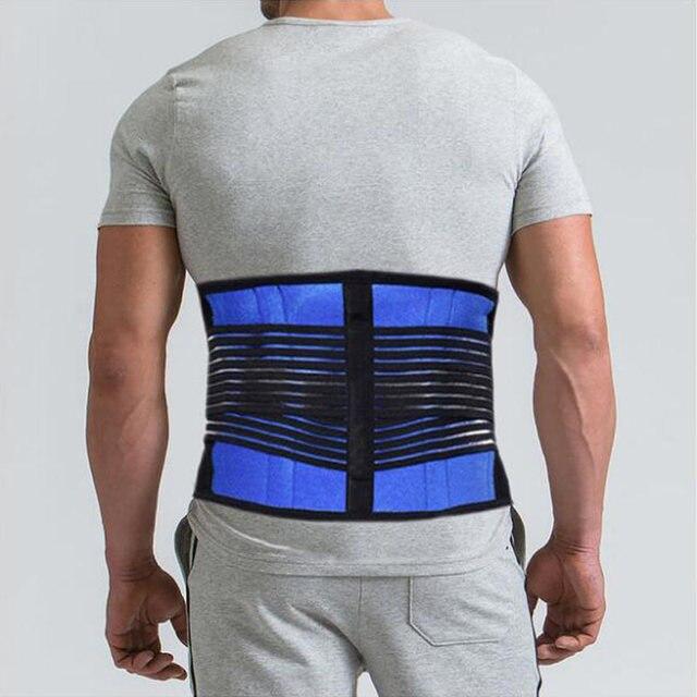 AOFEITE Neoprene Waist Posture Corrector Belt Lumbar Support Back Brace Tummy Trimmer Belt Reduce the Lumbar Pain Free Shipping