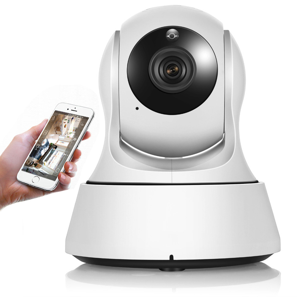 Wireless Surveillance Camera Wifi 720P Night Vision CCTV Camera Home Security Baby Monitor LCC77