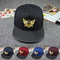Metal Wings Skull Crossbones Snapback Hat Mesh Hip Hop Caps Baseball Hats Casquette Gorras Women/Men 5 Colors Hat HT257