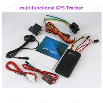 12V GT06 Mini Global Car Vehicle Motorcycle GSM GPRS GPS tracker Free real time PC tracking system 4 band Tracking Device image
