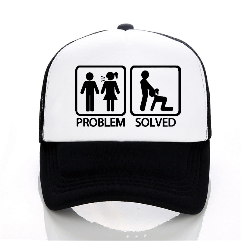 PROBLEM SOLVED Baseball cap Fashion summs
