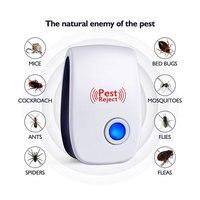 Repelente de insetos do rato do mosquito da multi-função do rato do repelente eletrônico ultrassônico da praga mini assassino do inseto roedor rodou