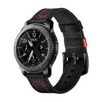 huawei watch gt strap for samsung galaxy watch 46mm gear S3 Frontier/Classic band huami amazfit 1/2/2s Genuine Leather belt
