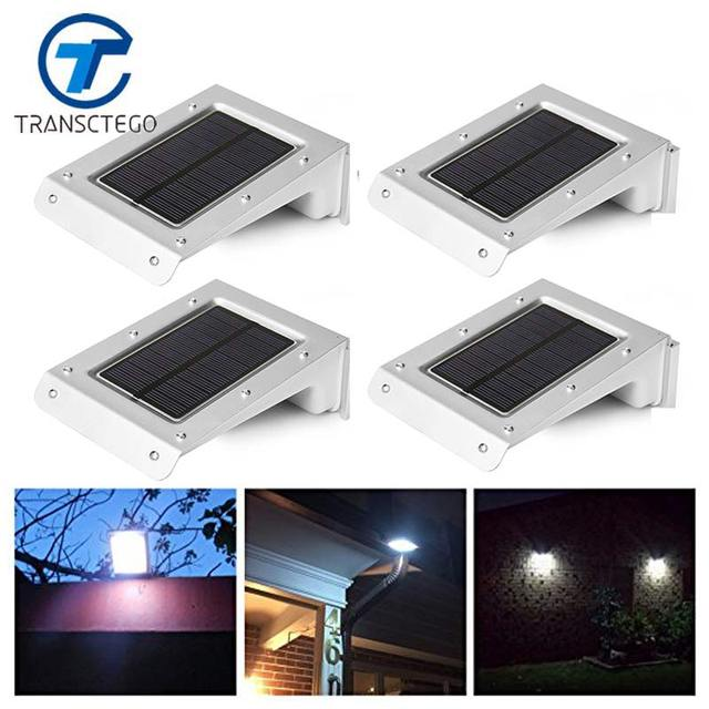 Transctego 20 led bright solar light powered motion sensor outdoor transctego 20 led bright solar light powered motion sensor outdoor garden patio path wall mount fence workwithnaturefo