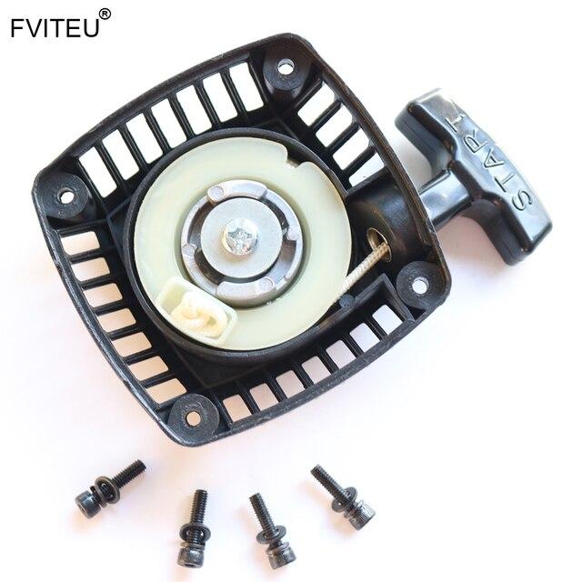 FVITEU Compatible Pull Start Starter with metal pawl for 1/5 hpi baja 5B ss 5t 5sc Rovan King Motor