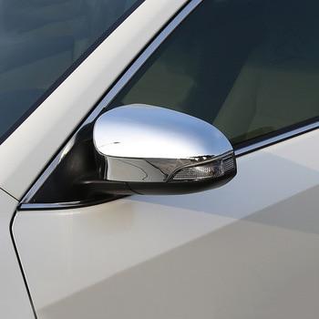 ABS Chrome Voor Toyota Avalon 2013 2014 2015 2016 Auto achteruitkijkspiegel deksel Cover Trim Sticker auto styling accessoires 2 stuks