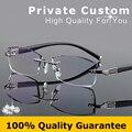 Famoso Designer de Armações de Óculos Sem Aro Para Os Homens Alta Limpar Lentes Anti Reflective Optical Óculos de Prescrição Óculos 644