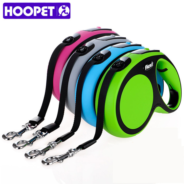 Flexi Sport Edition Pet Leash Automatic Retractable Training for Puppy Larger Dog Walking Leash Adjustable Dog Collar