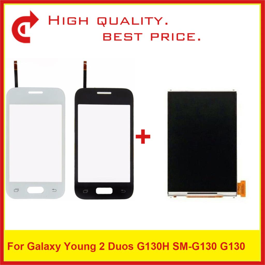 "High Quality 3.5"" For Samsung Galaxy DUOS Young 2 Duos G130H G130 LCD Display With Touch Screen Digitizer Sensor Panel-in Mobile Phone LCD Screens from Cellphones & Telecommunications"