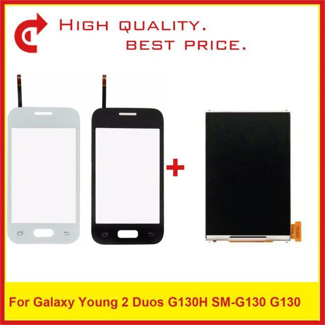 """Hohe Qualität 3,5 """"Für Samsung Galaxy DUOS Junge 2 Duos G130H G130 LCD Display Mit Touch Screen Digitizer Sensor panel"""