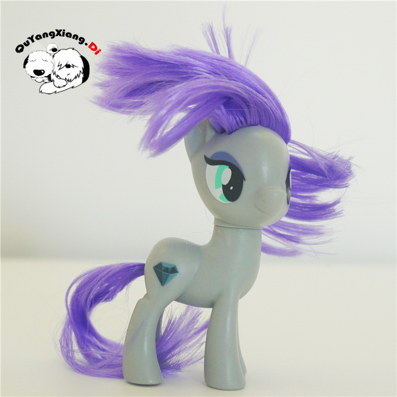 P8-016 Action Figures 8cm Little Cute Horse Model Doll New Maud Rock Anime Toys for Children(China)