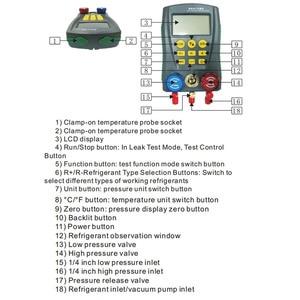 Image 3 - DY517 Refrigeration Pressure Gauge Digital Vacuum Pressure Manifold Tester Meter HVAC Temperature Tester