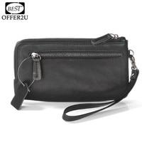 PU Leather Case For IPhone 5 SE 5S 6 6s 7 Plus 6 3 Below Zipper