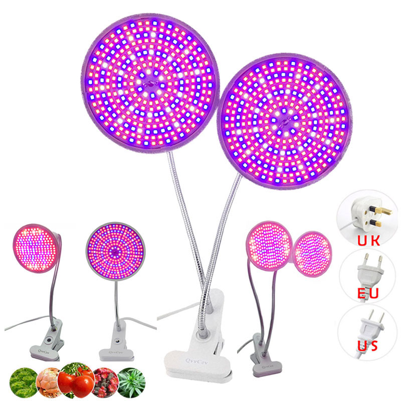 200/290 LED Plant Grow Light Growing Lamp Full Spectrum Phytolamp For Flower Veg Growbox Tent Seeds Hydro Room Cultivo Indoor