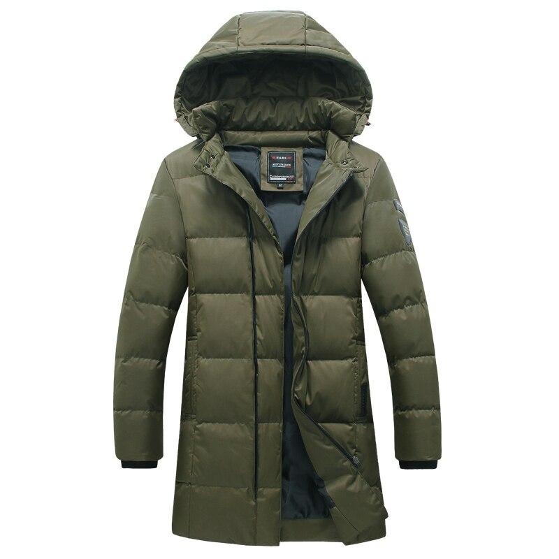 2016 Cotton-Padded Winter Jackets Jaqueta Masculina Veste Homme Parkas Men's Casual Fashion Slim Fit Wadded Men Hooded Coats Men