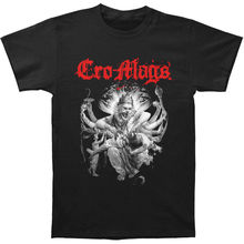 Cro-Mags Men's Best Wishes Slim Fit T-shirt Black Top Quality 2017 New Brand Men'S Summer Men'S Brand Clothing O-Neck T Shirt