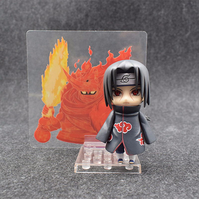 Nendoroid Naruto Figure Shippuden Uchiha Itachi 820 PVC Action Figures Collectable Model Toy Doll Birthday Gift (2)