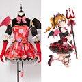 Amor En Vivo! nueva SR Kousaka Honoka Little Devil Transformado Uniforme Cosplay Traje de Halloween Para Las Mujeres