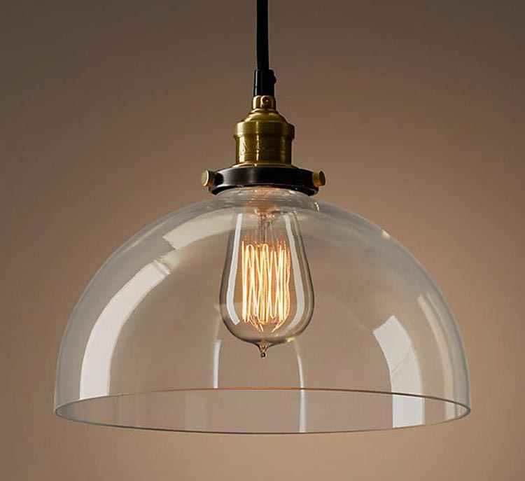 buy vintage loft industrial american country lustre glass edison pendant lamp. Black Bedroom Furniture Sets. Home Design Ideas