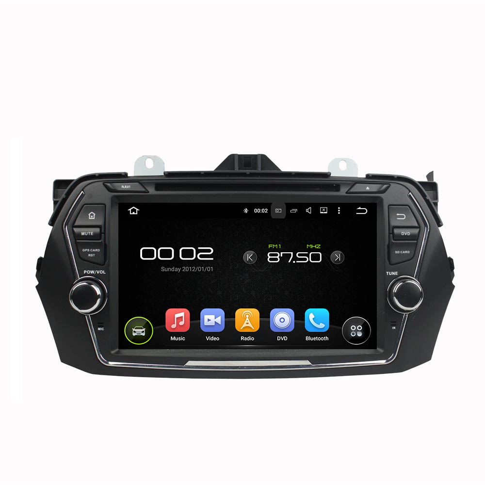 8″ Octa-core Android 6.0 Car DVD Player For SUZUKI CIAZ 2015 Car Video Audio Stereo Free MAP Car Multimedia Player