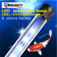 Imagey High Quality Colorful Air Bubble LED Aquarium Light Fish Tank Coral Lamp Tube Hot Underwater