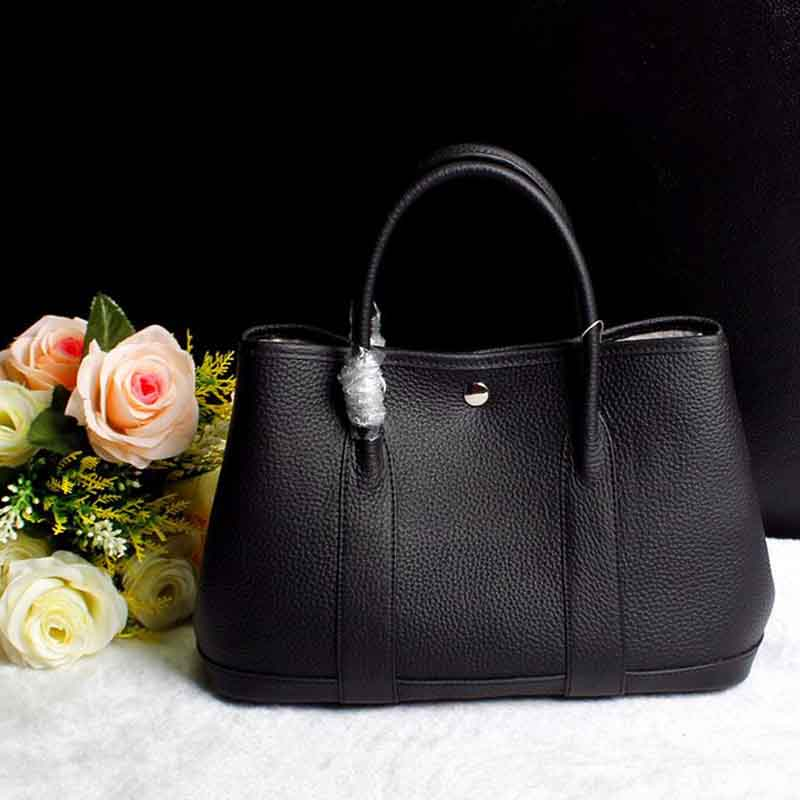 2017 Latest Faahion Womens Handbag Genuine Cow Leather High Quality Ladys Famous Brand Designer Tote Shoulder Bag Wide Strap