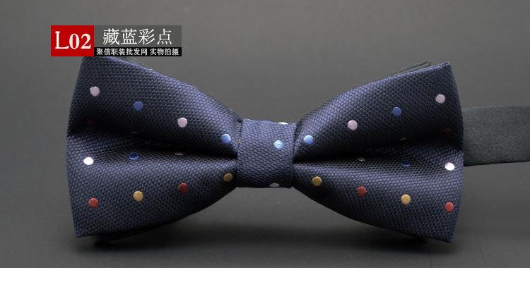 GUSLESON NEW Dot Bow Tie Toy Bowtie Noeud Papillon Oğlanlar və - Geyim aksesuarları - Fotoqrafiya 2